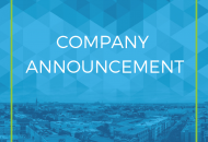 Company announcement