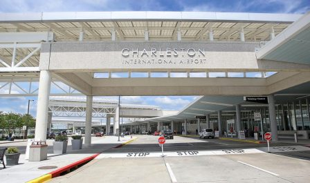 Charleston airport offers nonstop service to 21 destinationas
